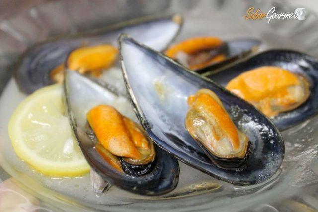 mejillones vino blanco entrante Algte Restaurante