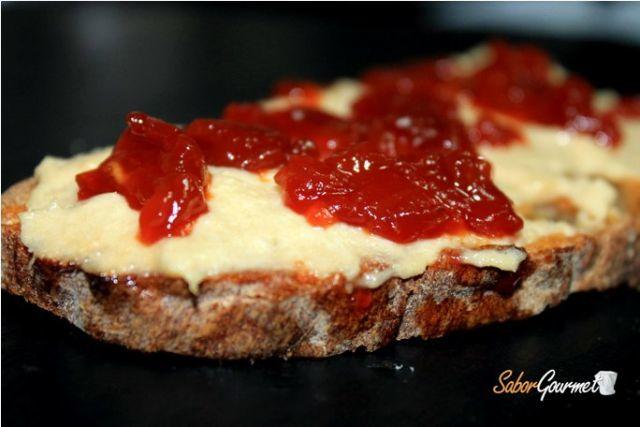 Receta canapé paté restaurante Algete