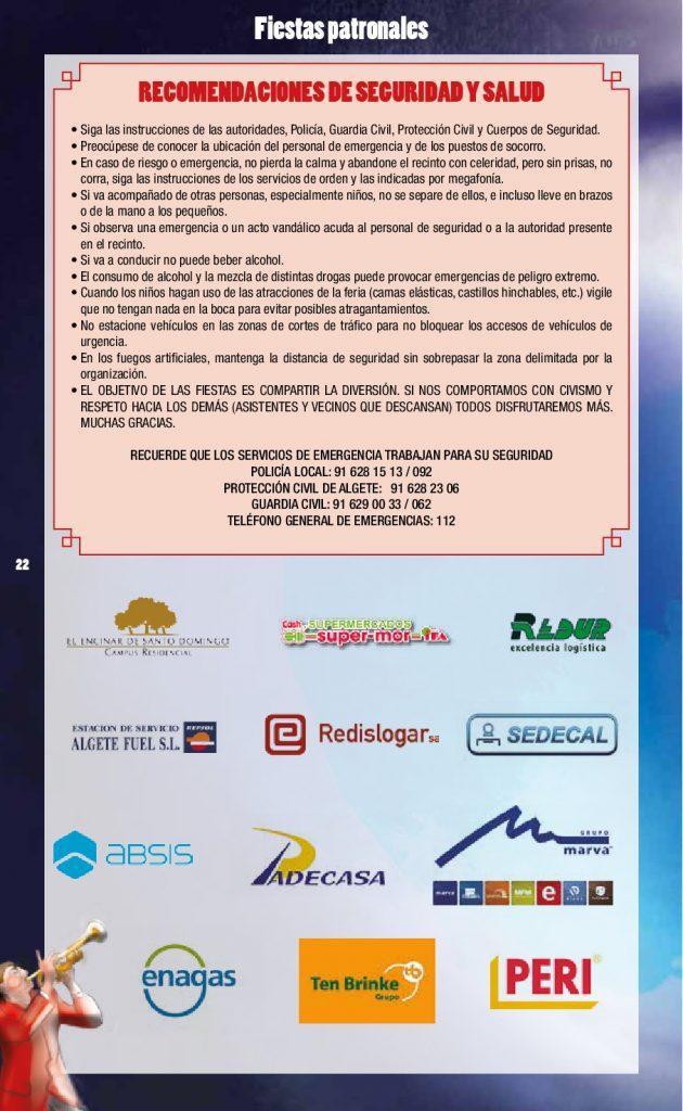 ALGETE PROGRAMA FIESTAS 2017