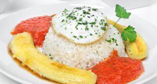 arroz cubana